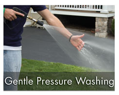 gentle pressure washing services
