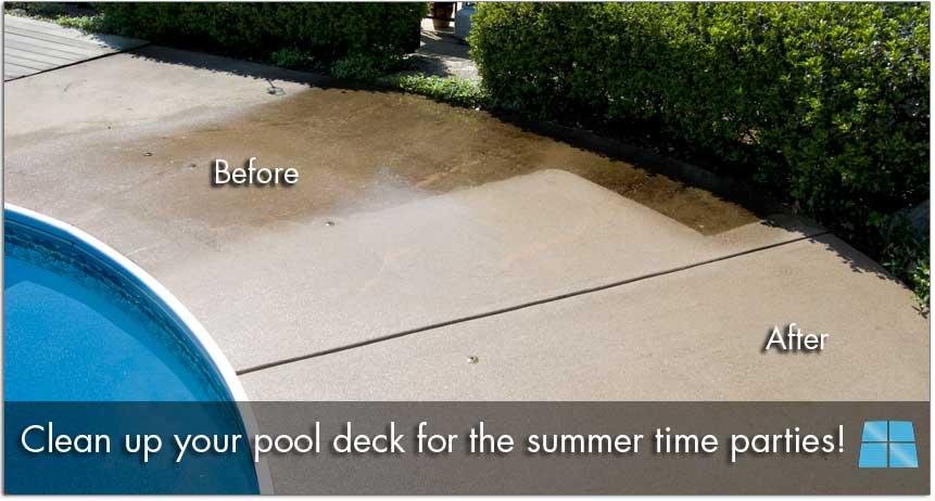 1 pressure washing lancaster pa mr windows for Pressure clean pools